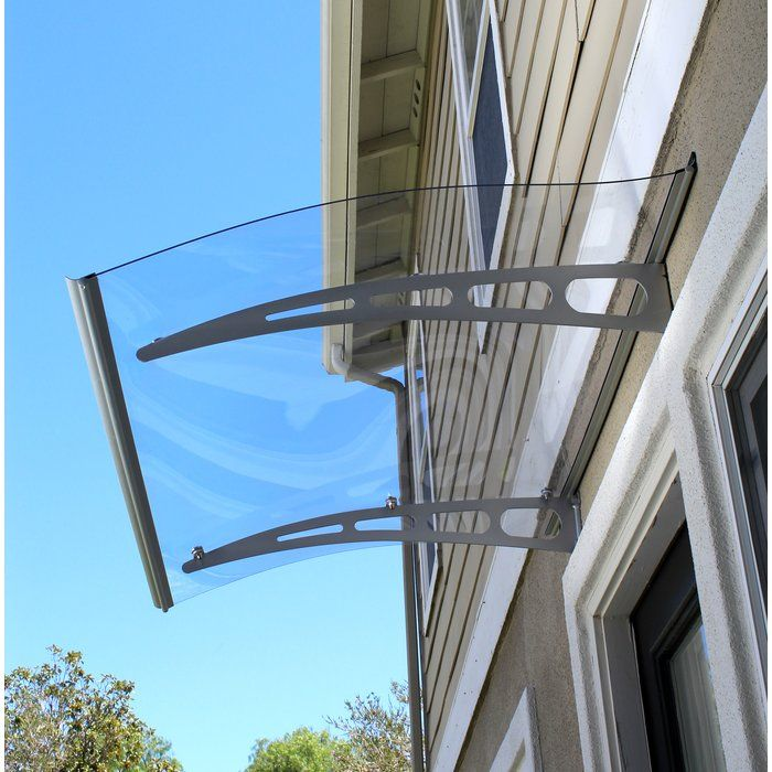 Pa Series Convex Door Awning Door Awnings Polycarbonate Roof Panels Window Awnings