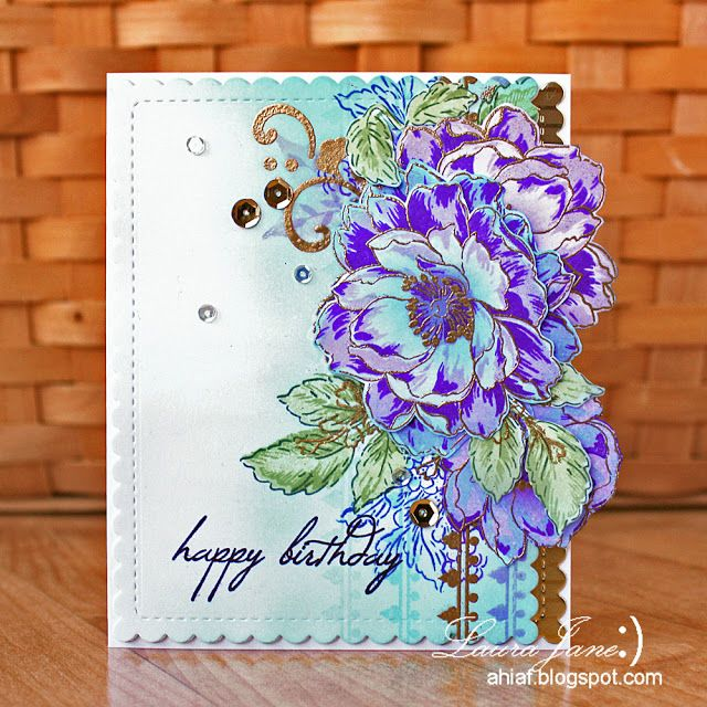 After-Hours Ink & Flowers: A Year in Review with Altenew Blog Hop