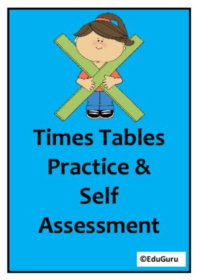 Times Tables Task Cards FULL VERSION from EduGuru on TeachersNotebook.com -  (19 pages)  - This Times Tables Practice set has been designed to support students to understand the connection between multiplication and division. It includes 40 cards (Answer Cards for self assessment included).
