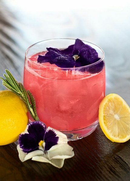 Ciroc Coconut and Strawberry Lemonade