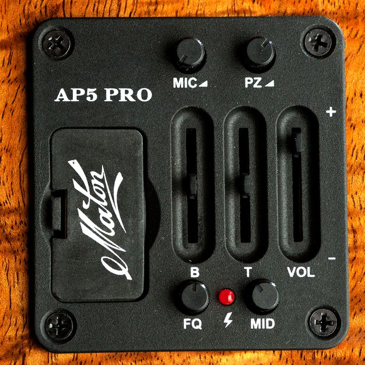 The Maton AP5 Pro #Acoustic Pickup System.
