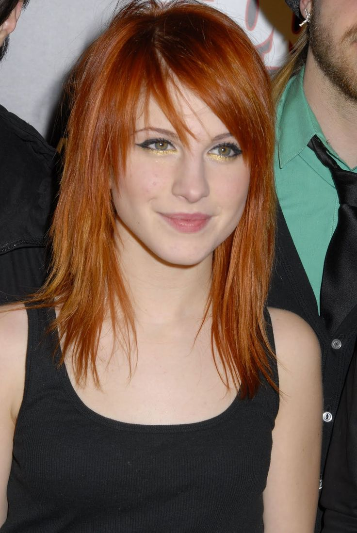 Razor Layered Haircuts Hayley Williams Golden Brown Hair
