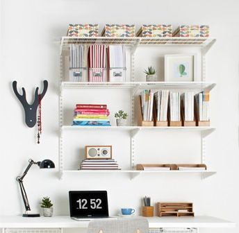 To Create Home Office Happiness, Start With The Basics. Install A Top Track  Then Add 3 Hanging Wall Bands. Within Minutes, You Have ...