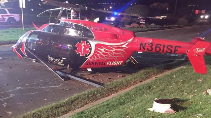 Four Aboard Medical Helicopter That Crashed Near Lawton