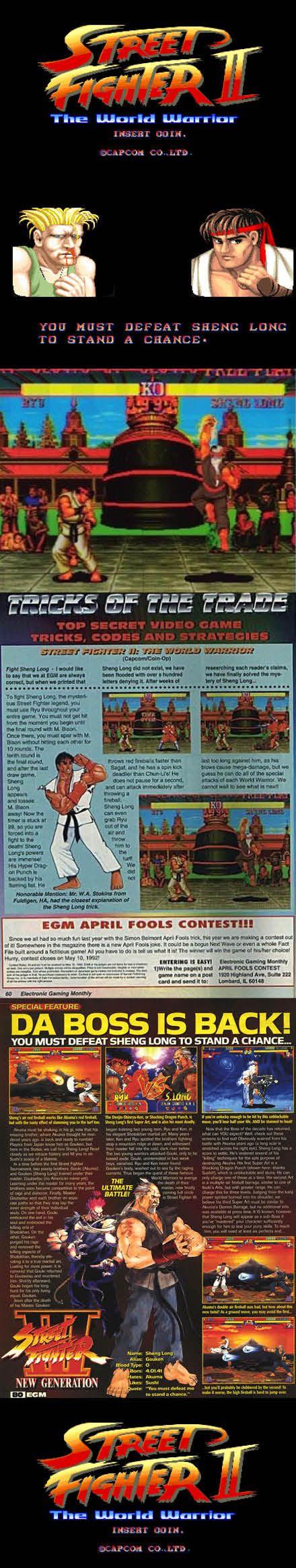 #RetroGamer #ArcadeGamer #GamerMyth What is the full story of #ShengLong in #StreetFighter 2?  http://www.levelgamingground.com/is-sheng-long-real-in-street-fighter-2.html