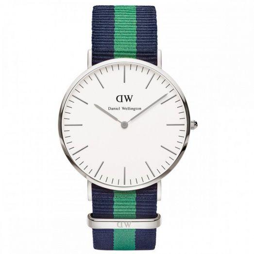 Daniel Wellington Gents Classic Wawrick S/Steel 40mm Watch 0205DW