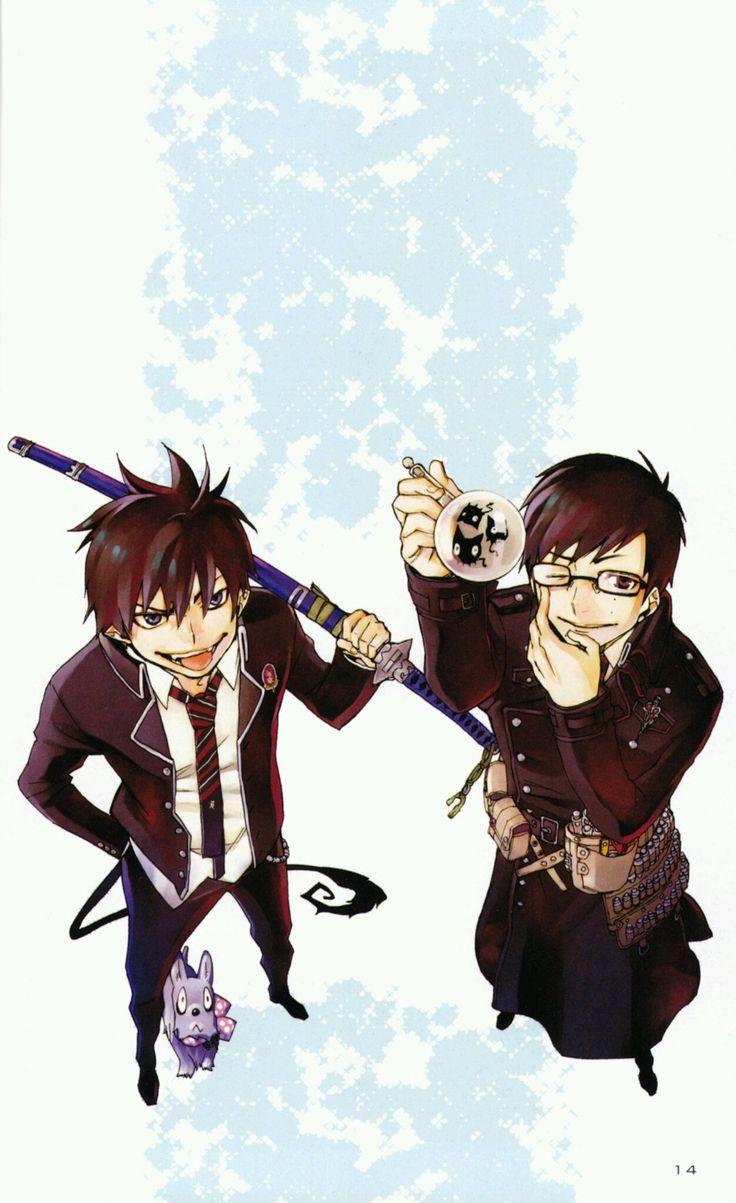 Blue Exorcist :: Okumura brothers, Rin and Yukio