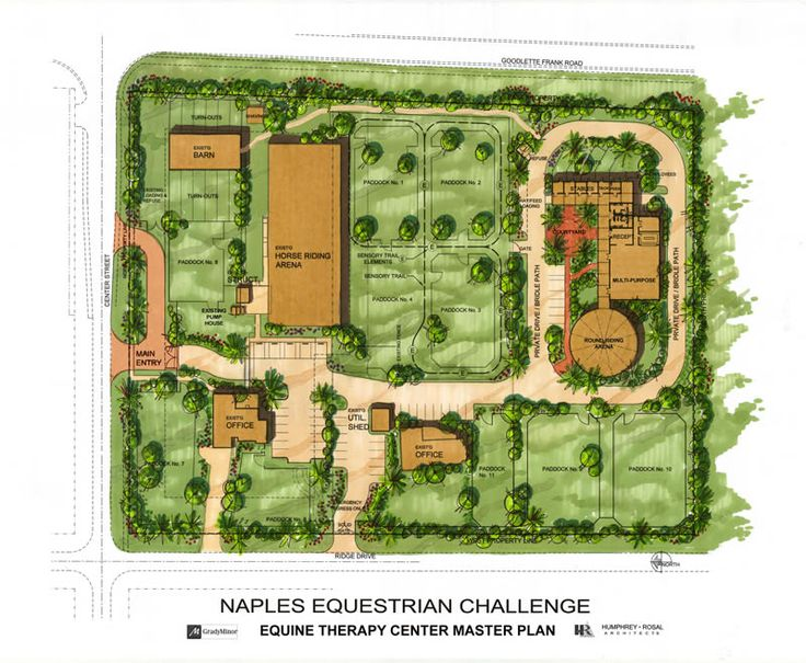 Equestrian center site plan related keywords suggestions for Equestrian barn plans