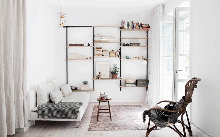 Ideas para salones pequeños y estrechos