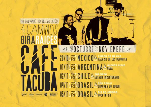 CD y Afiche - Café Tacuba by María Eugenia Carpaneto, via Behance