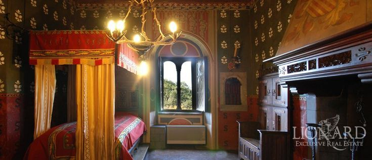 MEDIEVAL CASTLE IN PIEDMONT Castles interior House of