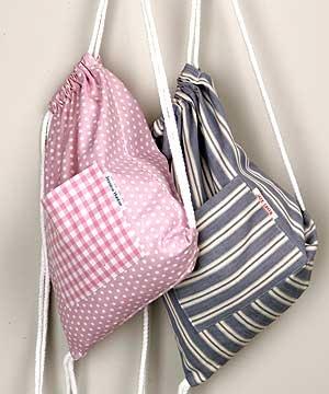 Simple gym bag