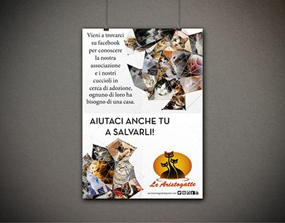 """Check out new work on my @Behance portfolio: """"Advertising - Le Aristogatte"""" http://on.be.net/1M1Iggi"""