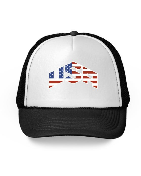 USA Hat. American Flag Trucker Hat for Women. USA Trucker Hats for Men. Patrioti…   – Products