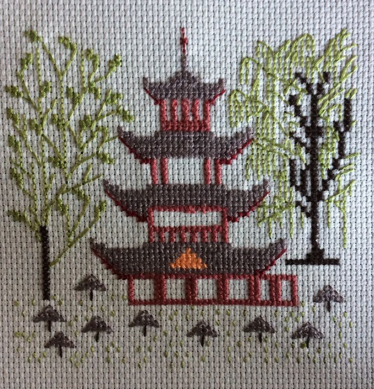 my work , handarbejdetfremme cross stitch.danish stitch