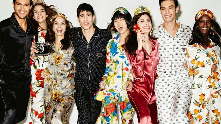 Dolce & Gabbana Summer 2016 Fashion Silk Pyjama. With colorful and floral patterns Pyjama gets a timeless look. More insights on @dolcegabbana. #DGPYJAMAPARTY.