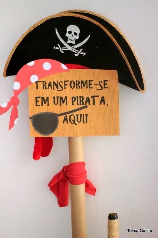 Mães e Festeiras: Uma festa de pirata para inspirar ...