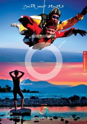 Skydive or relax by the lake - Yin & Yang of Taupo #travel