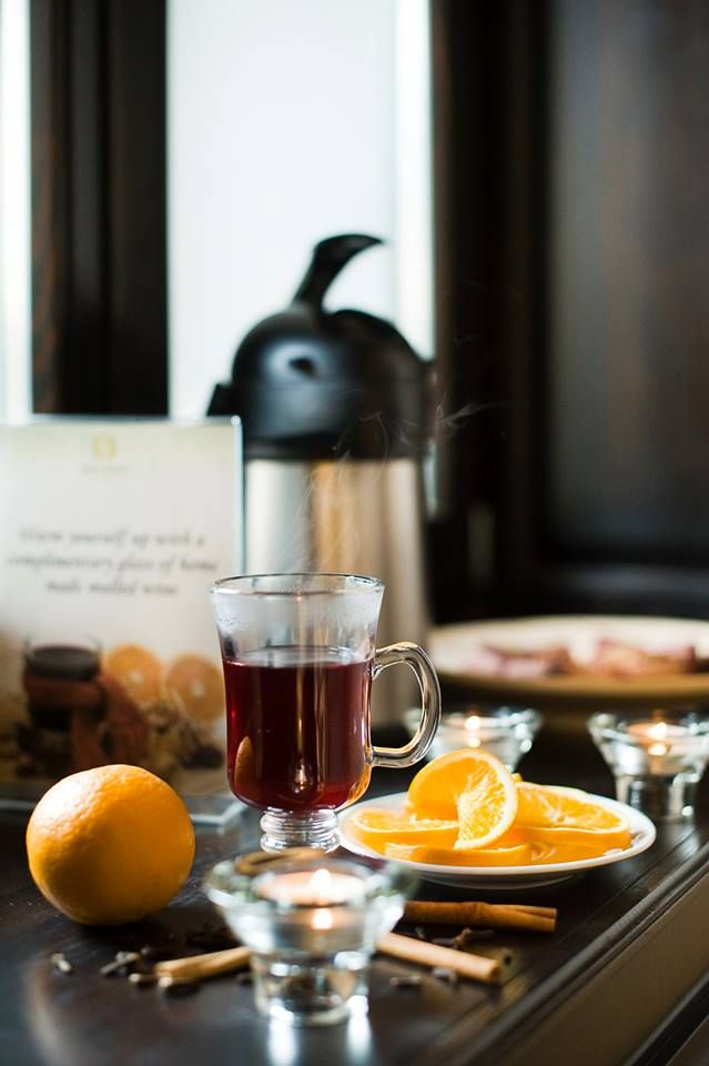 As it is getting colder day by day we are happy to offer our complimentary homemade mulled wine to all our guests every evening! Enjoy!