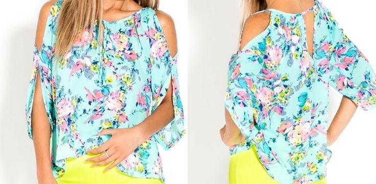 $17.99 Flirty Open Shoulder Blouse   Sassy Steals