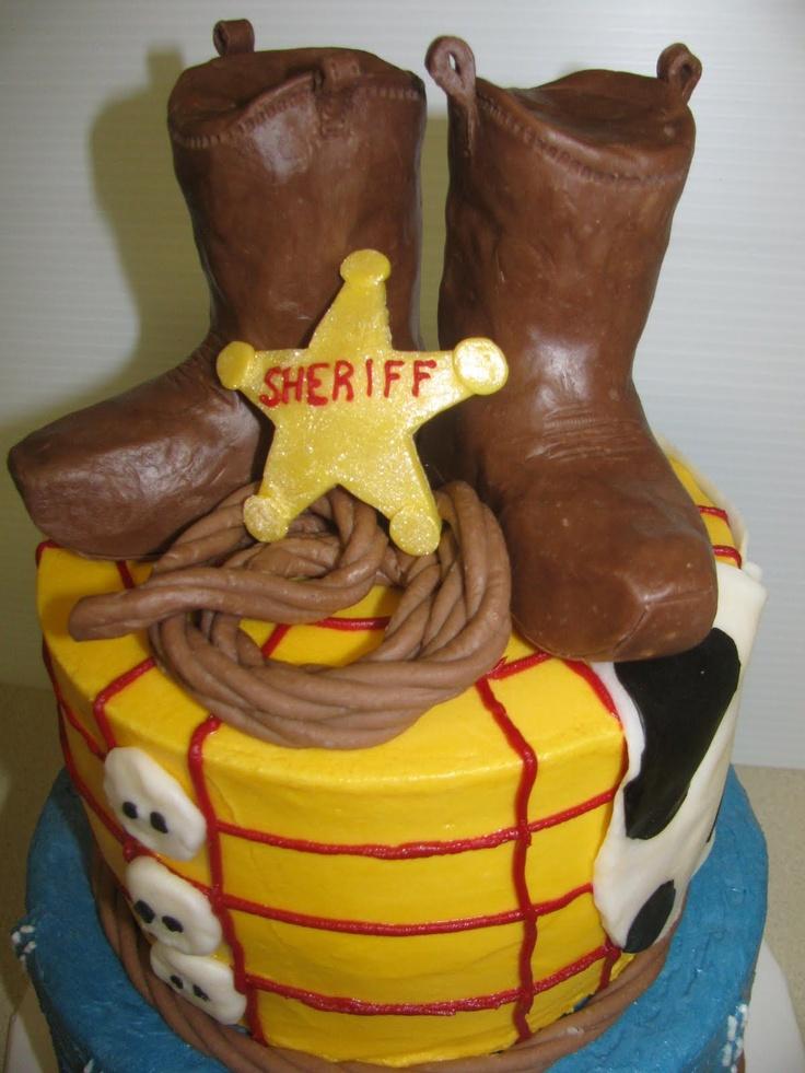 Tnird Birthday Cake