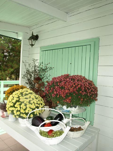 październikowa kompozycja na tarasie ------------- october vignette on the porch