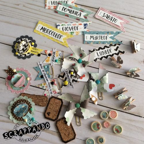Embellishment DIY   Scrappando Carta & Ricordi