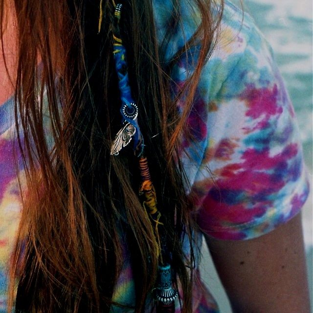 : Hairstyles, Idea, Bohemian Hair Style, Hair Styles, Summer Diy, Hair Wraps, Diy Boho Hair Wrap