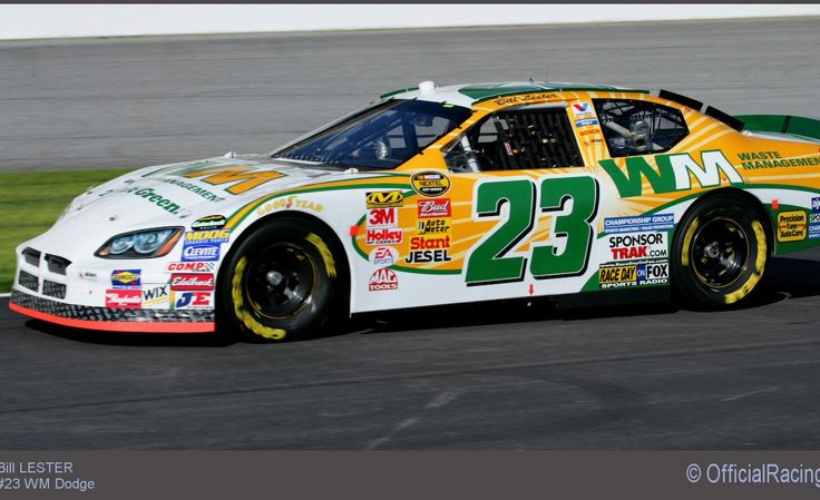 nascar racing | Bill Lester's NASCAR race car photo