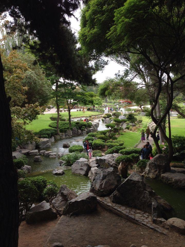 """Jardín japonés """"Kokoro no niwa"""" jardín del corazón, Serena, Chile."""