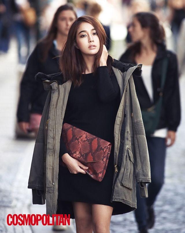 Lee Min Jung Is Blooming In Prague Pictorial For Cosmopolitan Korea's October 2013 Issue