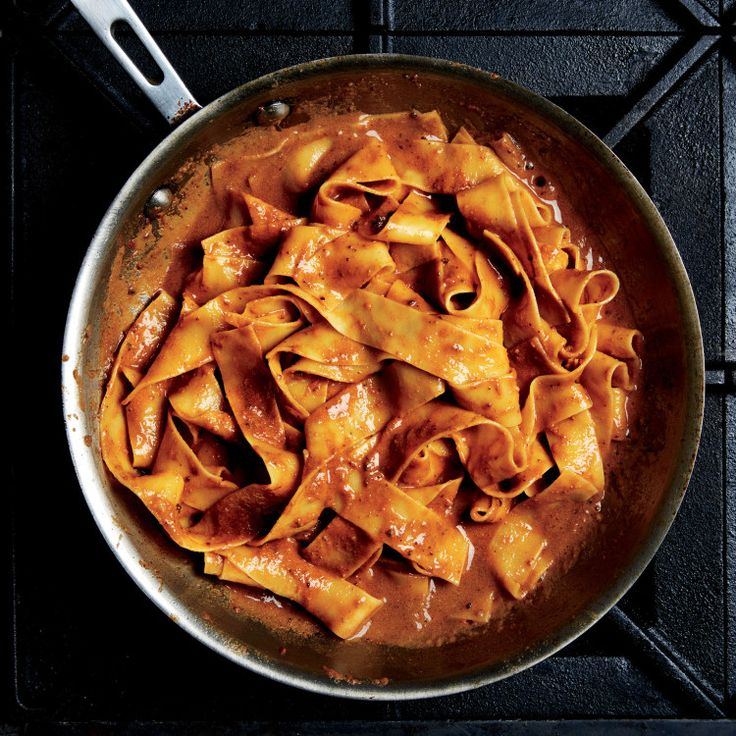 This makes enough sauce for three 12-oz. portions of pasta, but leftover sauce is a good thing. Freeze it for next time. Learn more here.