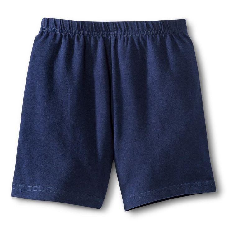 French Toast Girls' Bike Shorts - Navy (Blue) 16