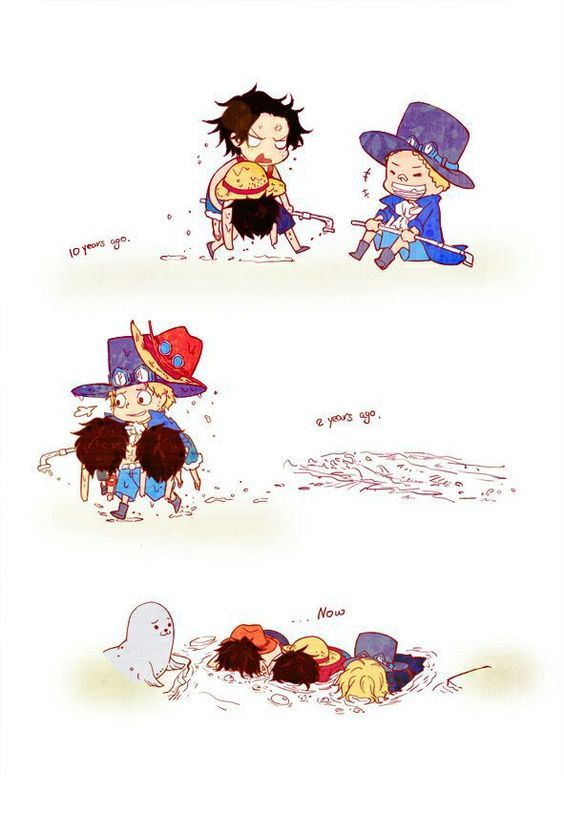 sabo is still the best :D HAHAHA #onepiece #luffy