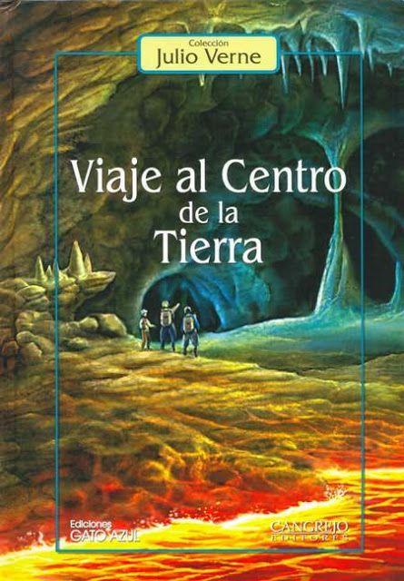 Los come libros: Viaje al centro de la Tierra, Julio Verne