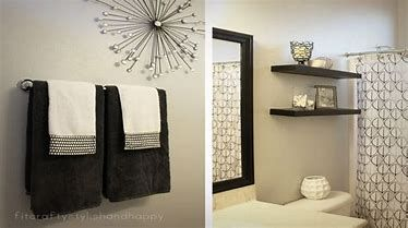 Image result for Black and White Bathroom Theme