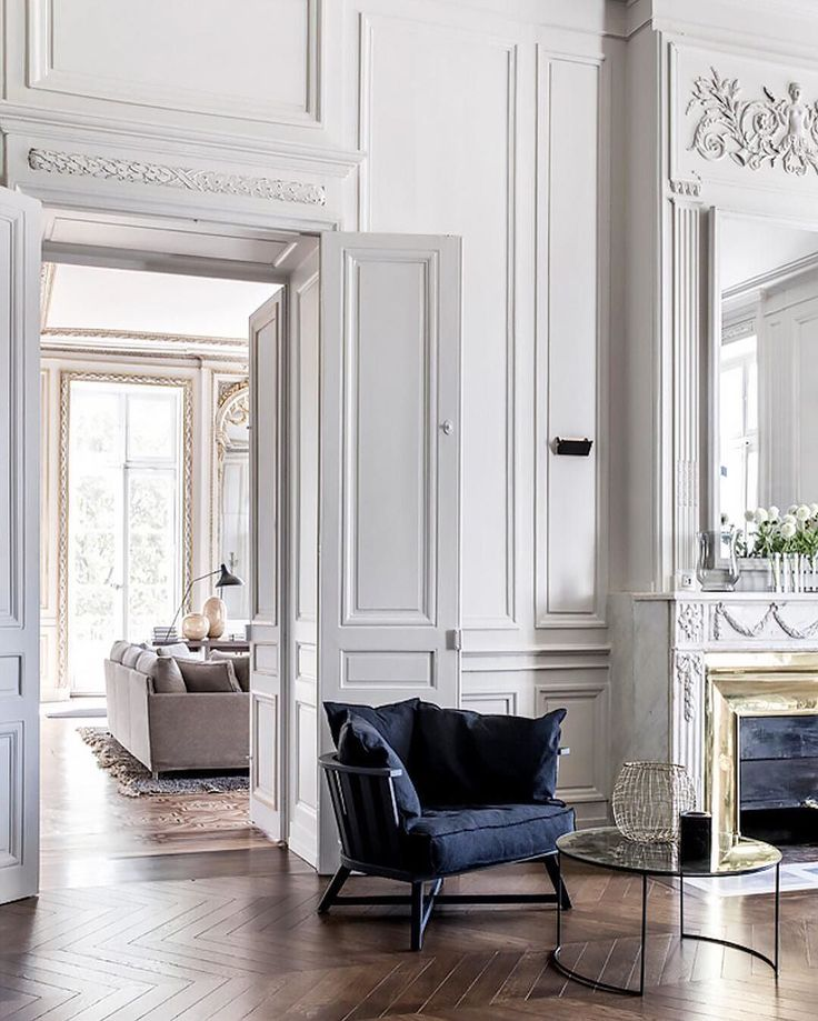 Just Love Looking Over All The Beautiful Details Of These Classic French  Apartments. The Parquetry Floors, Panelling, Ornate Mouldings, Huge French  Doors ... Pictures