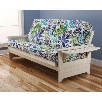 Harwich Futon and Mattress Frame Finish: Antique White - http://delanico.com/futons/harwich-futon-and-mattress-frame-finish-antique-white-697890913/
