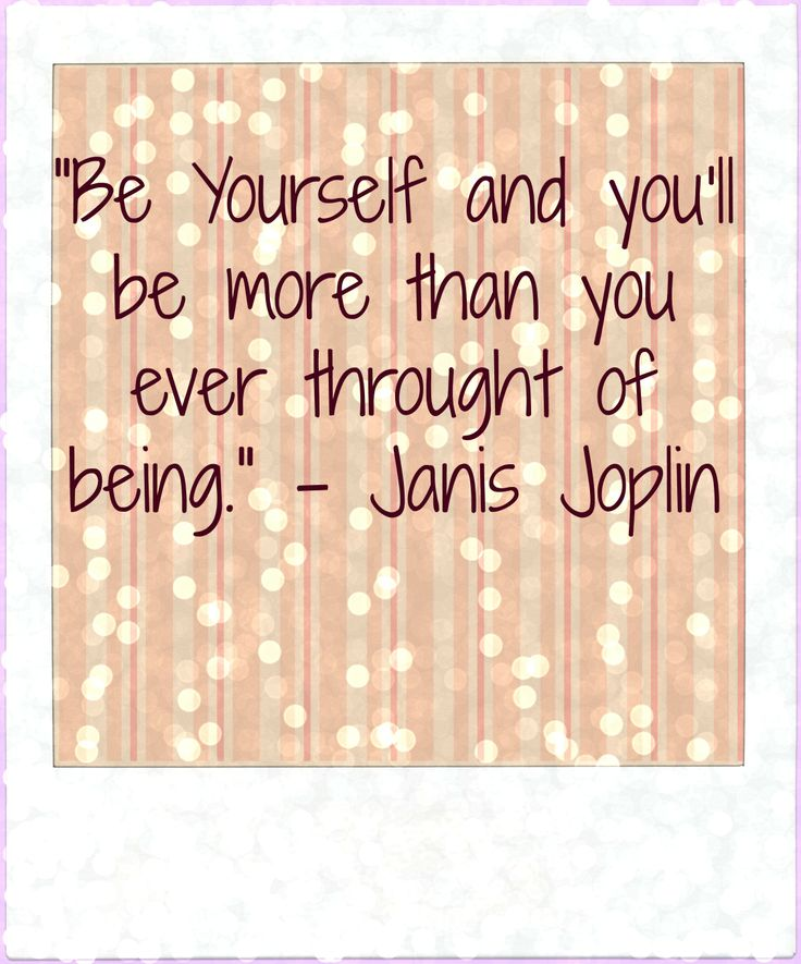 Janis Joplin Quote created by L. Lehwalder, 2014