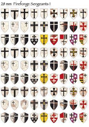 | 28mm Deutscher Orden - Templar Knights Cavalry >  https://de.pinterest.com/pin/256353403768227288/