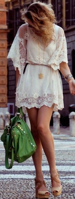 summer trend: lace dress ♥✤ | Keep the Glamour | BeStayBeautiful