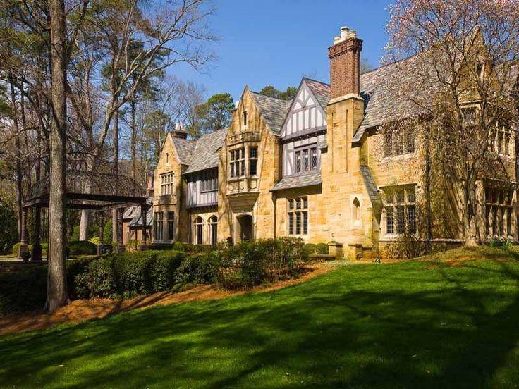 Rhododendron Buckhead Atlanta C1934 Mega Mansions And Luxury