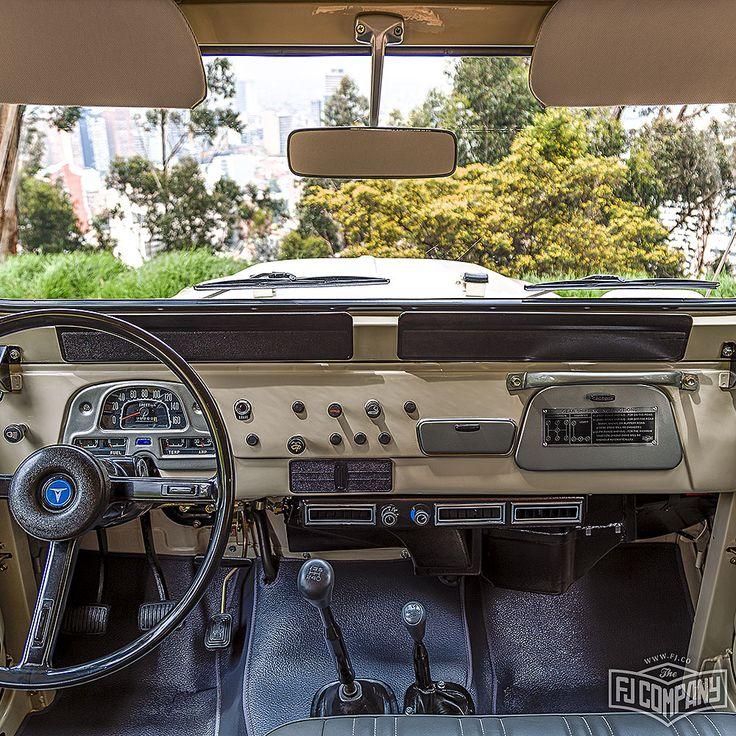1977 Toyota Land Cruiser FJ43 Beige For Auction Sale Bonhams Amelia March 12 #fj40 #fj43 #fjcompany