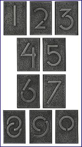 numbers - Frank Lloyd Wright