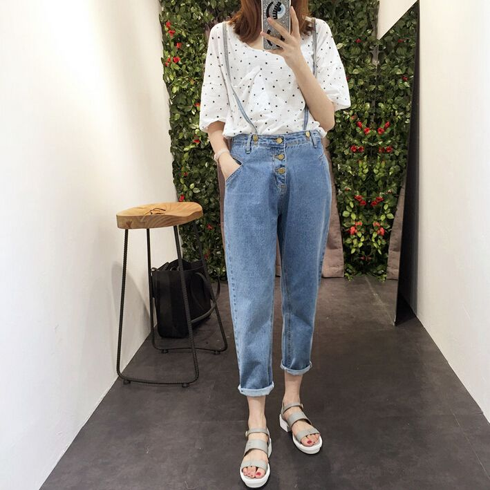 Cheap jean jacket, Buy Quality jeans jeans jeans shop directly from China jeans 36 Suppliers:  Hot Sales !!!                                  S~6XL Plus Size Women High Waist Jeans 2015  Wo