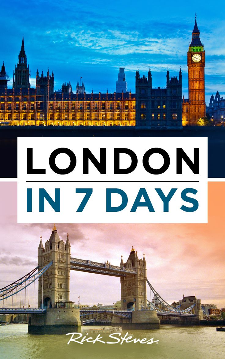 Rick Steves' ideal itinerary for a first-time London visit.