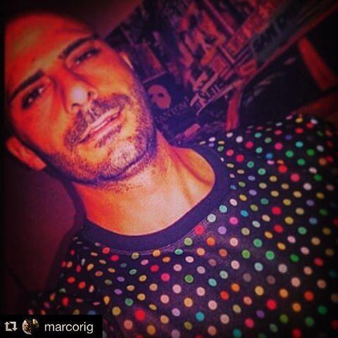 ISTANTANEA @marcoriggio #thanks!!! #sweatshirt #pois #marquisandoge #riggio #luxury #mand #colorful #color #textgram #texture #collection #ss16 #picoftheday #instamood #instadaily #followme #like4like #likeforlike