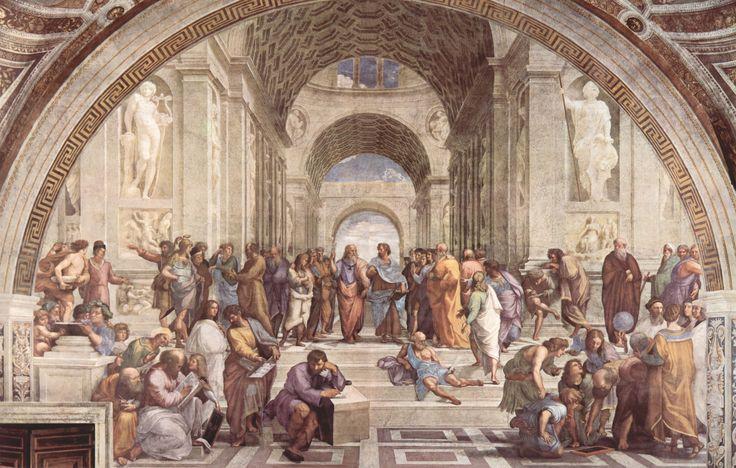 Raffaello Sanzio da Urbino, The School of Athens, Fresco, (Apostolic Palace, Vatican City, 1509–1511)