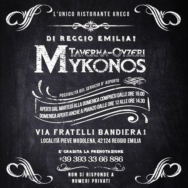 #tavernaouzerimykonos #tavernamykonos #tavernamykonosreggioemilia #ristorantegreco #ristorantegrecoreggioemilia #tavernagreca #tavernagrecareggioemilia #greekfood #greece #greektraditions #greektraditionalfood #solocosebuone #rispettaletradizioni #greekfamily