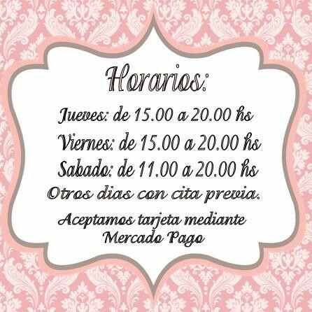 Horarios Las juanas